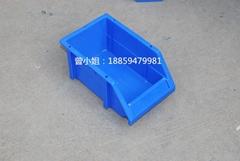 塑料斜口零件盒