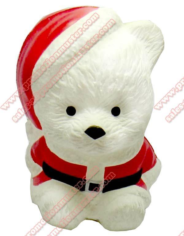 PA0005 Christmas Bear stress ball christmas gift  2