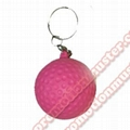 PK0006 keychains cheap promotional gift colorful and logo imprinted holiday gif 2