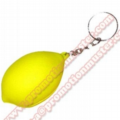PK0010 fruit shape with key ring cheap advertising gift custom design welcomed
