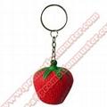 PK0010 fruit shape with key ring cheap advertising gift custom design welcomed   5