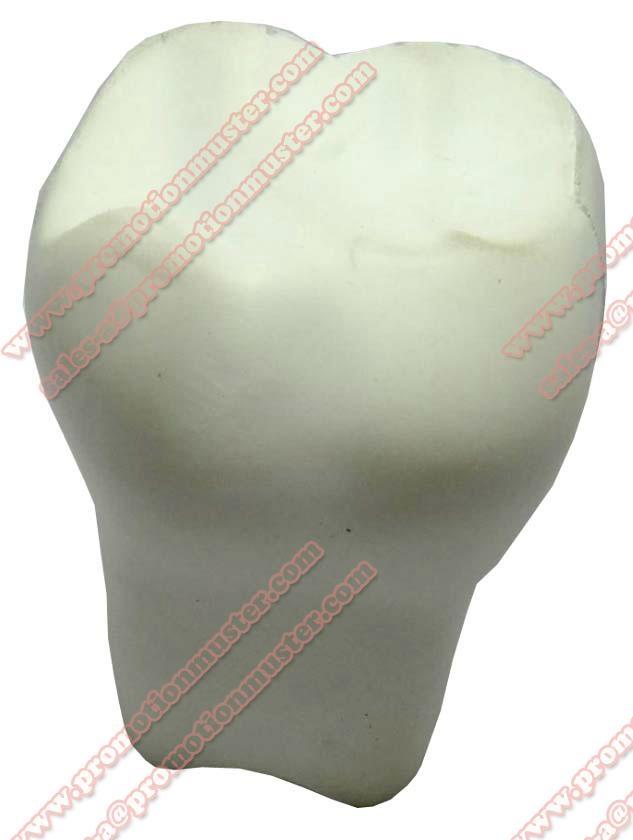 PM0010 stress tooth  pu foam ball  educational stress ball  bespoke stress shape 5