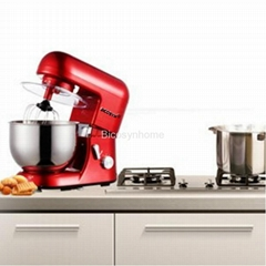 Bicosyn Stand Mixer 800W 5.5Qt 304SUS Bowl 6-Speed