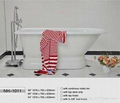 NH-1011 Freestanding Cast Iron Bathtub