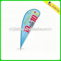 Customized Various Size Teardrop Sail Flag Banner