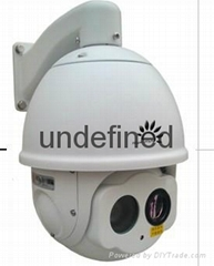 IR Thermal and Visible Dome Camera