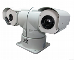 Multi-sensor infrared IP thermal sedurity Camera