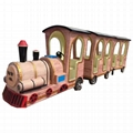 Electric trackless train ride for sale