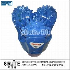 215mm 水井石油井橡胶密封钢齿铣齿三牙轮钻头