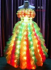 DMX512 controlled LED Light Long Dress
