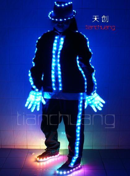 LED发光演出服  1