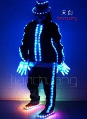 LED发光演出服