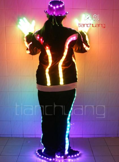 LED发光演出服  2