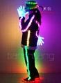 LED发光演出服  4