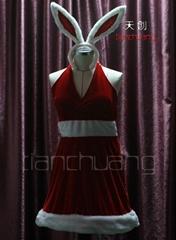 LED白光圣诞裙