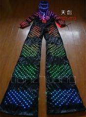 DMX512 Controlled Stilts Walker LED Costume