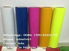 JY PVC / PU Heat Transfer Film for Fabric
