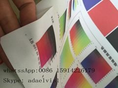 high quality print and cut flock for garment