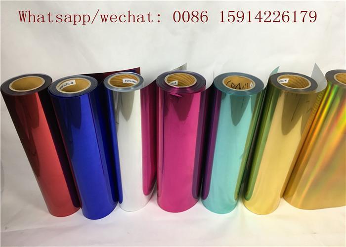 50cm*50m korean quality si  er metallic garment heat transfer film 5
