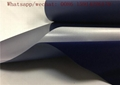 Navy blue Flock Heat Transfer Vinyl Easy Cut Washable 27 Yards Sticky