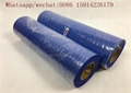Royal blue Flock Heat Transfer Vinyl / Flocked HTV Vinyl roll For Garment