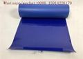 Royal blue Flock Heat Transfer Vinyl / Flocked HTV Vinyl roll For Garment