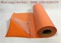 Fashionable Orange Flock Heat Transfer