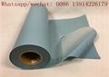 Sky blue 3D Flock Heat Transfer Vinyl For Clothing Heat Press Machine