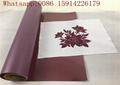 50cm*25m ada wine color Flock Heat Transfer Vinyl Flex For Garment