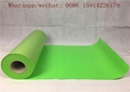 Neon Green Easy Weed Flock Heat Transfer Vinyl Iron On HTV Film Roll 50cm*25m