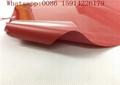 Hot Peel Sticky PU Heat Transfer Vinyl , Red Heat Transfer Vinyl For C 6