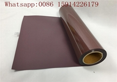 PU Heat Transfer Film Brown Color Good Washing Resistance