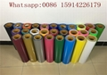 Gold Color PU Hot Transfer Vinyl 27 Yards Hot Peel For Jersey Small Logo