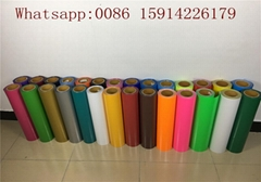 27 Yards Soft Sticky Flex PU Heat Transfer Vinyl For Seiki 720 Cutting Plotter