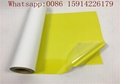 Sun Yellow PVC Heat Transfer Vinyl High Reliability With ISO 9001 Certificatio