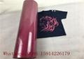 Custom School Shirt Pink Glitter Heat Transfer Vinyl 100% Enviromental Friendly 5