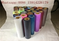 Textile Black Glitter Heat Transfer Vinyl 27 Yards Soft And Thin With Sparkle Ef
