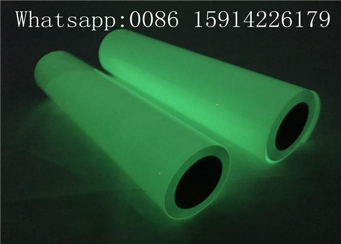 Ribbon Cancer Awareness PU Glow Heat Transfer Vinyl For Press Machine 3