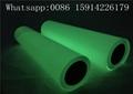 Ribbon Cancer Awareness PU Glow Heat Transfer Vinyl For Press Machine 4