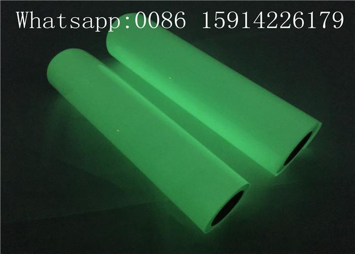 Ribbon Cancer Awareness PU Glow Heat Transfer Vinyl For Press Machine 5