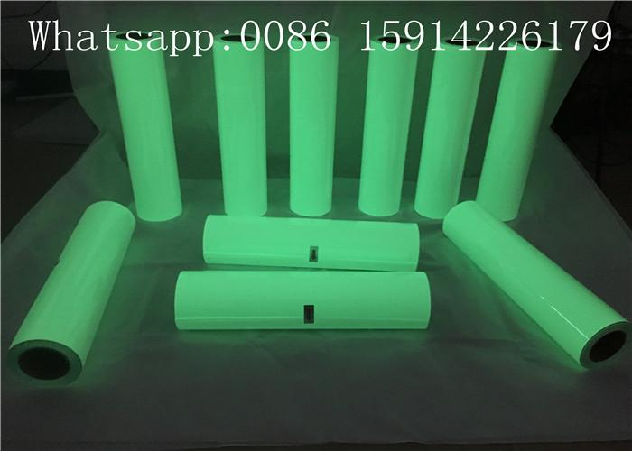 27 Yards Glow Heat Transfer Vinyl , 50cm*25m Glow In The Dark HTV Roll 3