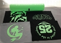 Washable Glow Heat Transfer Vinyl , Glow In The Dark Vinyl For T Shirts Textile