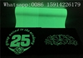 High Durability Glow Heat Transfer Vinyl PU Environmental Friendly For Shoes