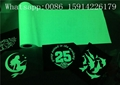 PU Material Glow In The Dark Heat Press Vinyl With Good Washing Resistance 6