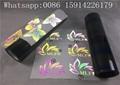 Rainbow Reflective Heat Transfer Vinyl , PU Reflective Transfer Paper