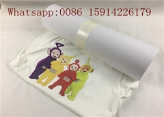 50cm*15m high quality print and cut white flock for garment heat press
