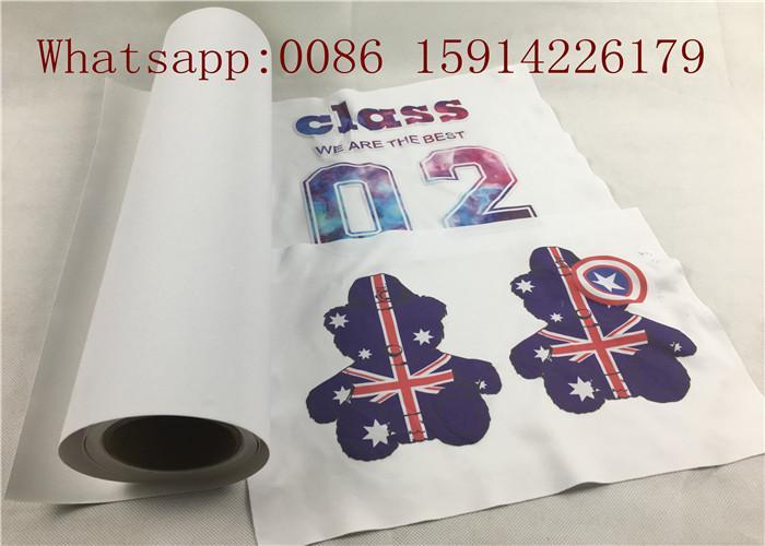 Korean quality 50cm*25m inkjet Eco-so  ent printable flock heat transfer vinyl 5