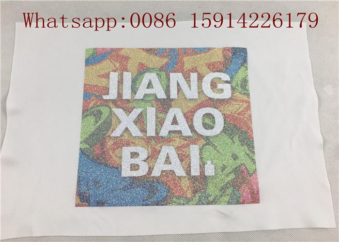 50cm*27 yards Printable glitter heat transfer paper for light fabrics easy cut a 2