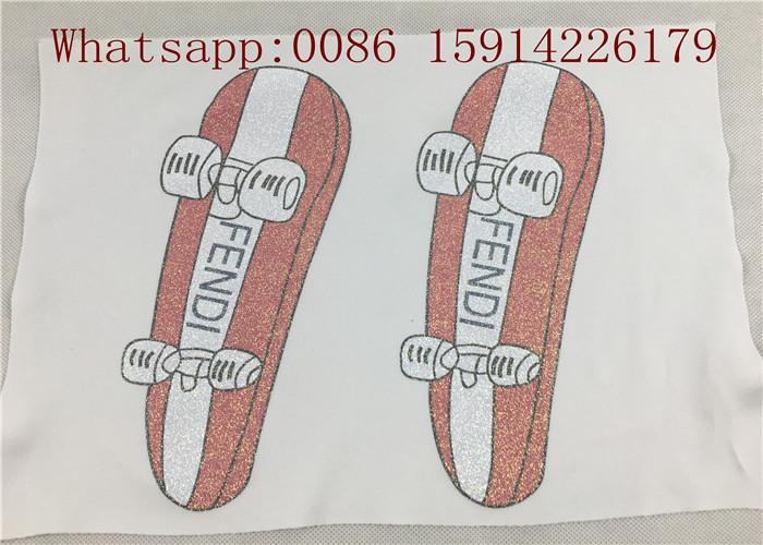 50cm*27 yards Printable glitter heat transfer paper for light fabrics easy cut a 3