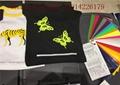 Super Flexibile Printed Heat Transfer Vinyl For Cotton Fabric ISO9001 4